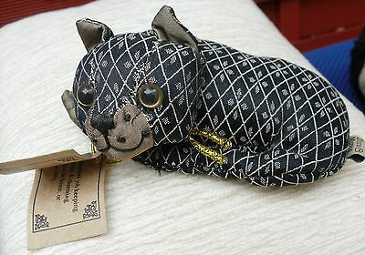 Lovely Constance Cat  Dora Mouse  & Company Paper Weight , Tags No Box