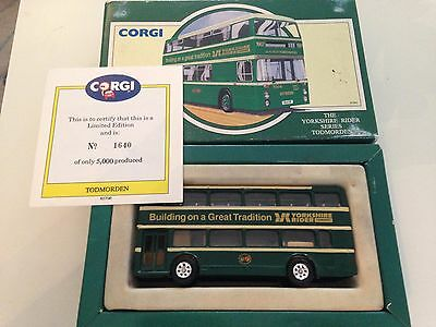 corgi the yorkshire rider todmorden limited edition in box mint condition