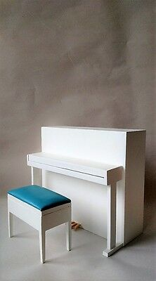 Economy Priced 1:6 Scale Furniture for Fashion Dolls 4240W Upright Piano w/Bench