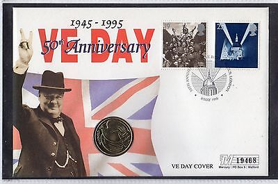 Channel Islands Liberation Anniversary Coin Cover 19468