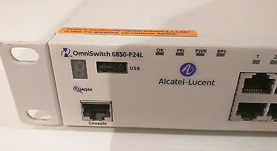 Switch Alcatel-Lucent OmniSwitch-6850-P24L **PoE**