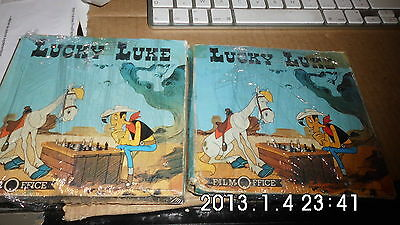 lot de 2 FILMS SUPER 8 couleur et sonore - LUCKY LUKE