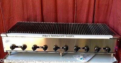 "NEW 72"" Radiant Char Broiler Gas Grill Stratus SRB-72 #4506 Commercial BBQ Steak"