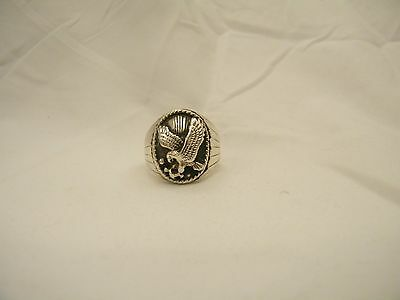 Native American Sterling Silver Eagle Ring