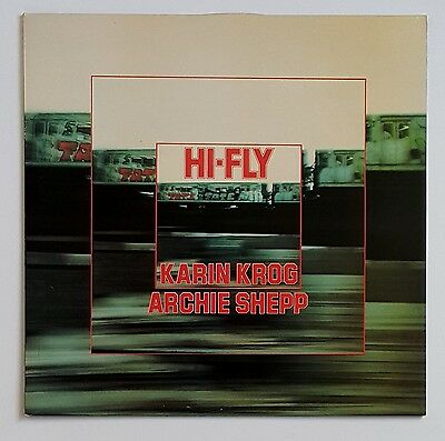 Karin Krog Archie Shepp - Hi-Fly LP UK Jazz Compendium 1976 NM