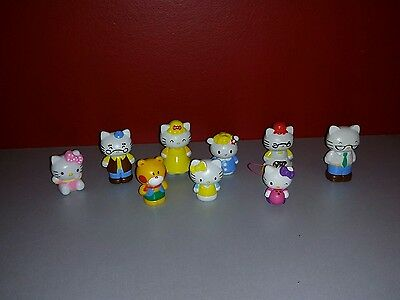Hello Kitty Figure Bundle for cake toppers or playsets