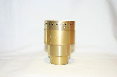 ISCO-OPTIC ULTRA MC 2/85mm-3,35in. Lens Made In Germany