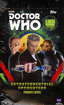 Topps Doctor Who Extraterrestrial Encounters open case @2250 card lot insert set