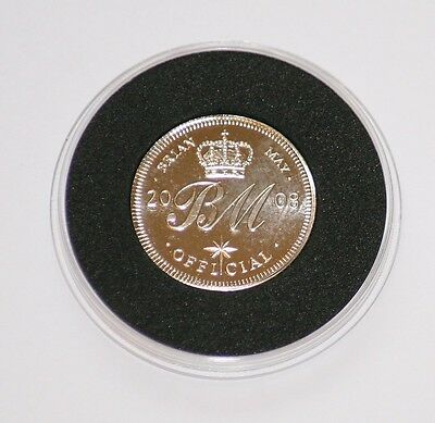 Brian May Queen 2008 Commemorative Sixpence Cosmos Rocks Tour