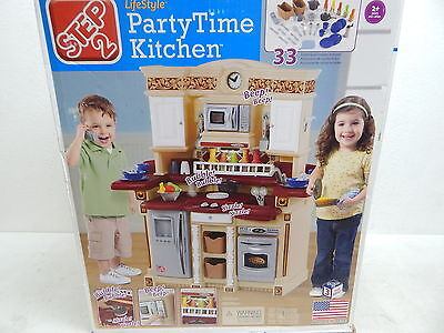 Step2 767800 Upscale Party Time Kitchen OPEN BOX (Due to box damage)