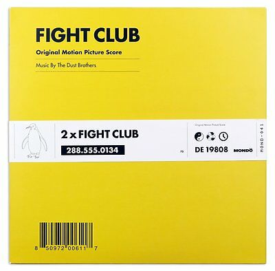 Fight Club Soundtrack - Dust Brothers Double Vinyl LP *Pre Order