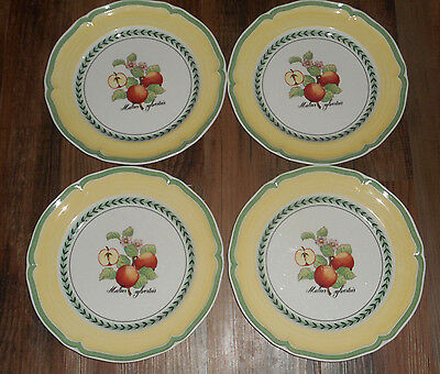 Villeroy & Boch Germany French Garden Valence Dinner Plates (4) GUC