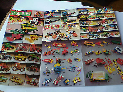 Britains Model Toy Catalogue 1972 Usa Edition V Good/excellent Condition For Age