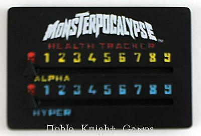 Privateer Monsterpocalypse Accessory Pack - Health Tracker NM
