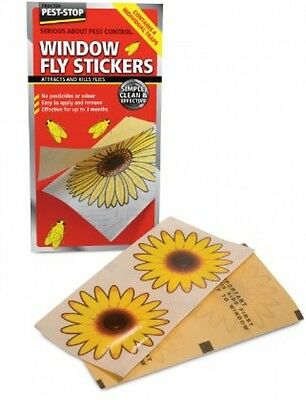 Window Fly Stickers (20 x 4 pack)
