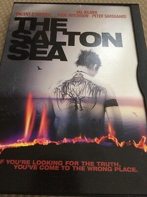 The Salton Sea (DVD, 2002) Mint Disc!•No Scratches!•USA•Out-of-Print!•Val Kilmer