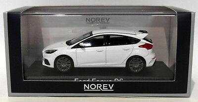 Norev Models 1/43 Scale Diecast 270543 - 2016 Ford Focus RS - White