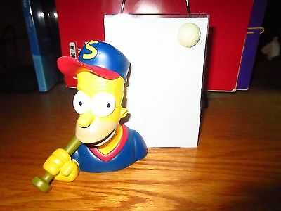 Simpsons Homer Baseball Picture Frame 2000 Comedy Central  Rare