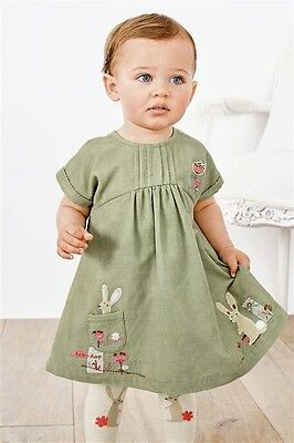 New! Next! Baby Girls set: dress with tights 18-24 months 1.5-2 years