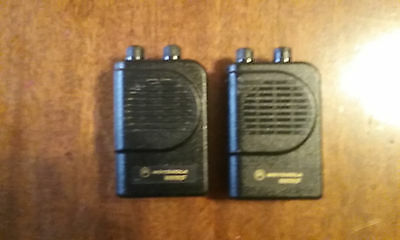 motorola minitor 3 lll vhf two channel  non store voice pager