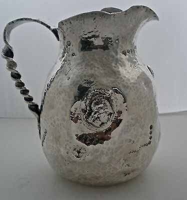 Rare Gorham Sterling Hamburg Aesthetic Water Pitcher Retailed By Duhme & Co 1885