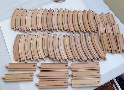 Brio Wooden Large Track Bundle 48 Pieces Of Track  For Train Track Thomas Elc