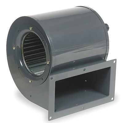Dayton Rectangular OEM Blower With Flange, Voltage 115, 1600 RPM, Wheel Dia.