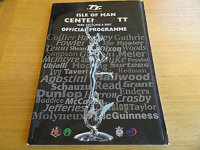 Isle of Man Centenary TT Races Official Programme 2007