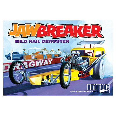 Jawbreaker Wild Rail Dragster 1/25 Plastic Scale Model Kit New SEALED!