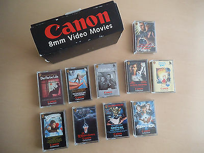 Canon 8 mm Video Movies Collection Box Set Film Gremlins Superman Casablanca