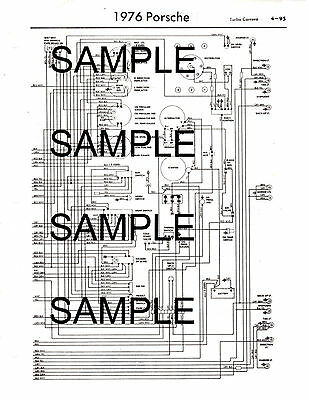 1985 Alfa Romeo Gtv-6 85 Color Coded Chassis Wiring Diagram Guide 85Bk 4Pgs