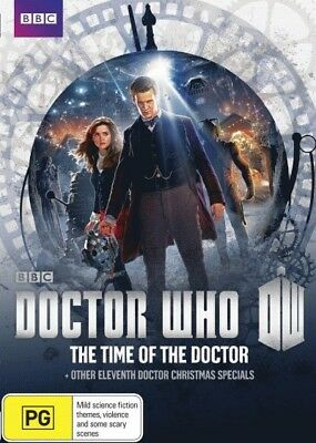 Doctor Who Time of the Doctor and Other Doctor Christmas Specials DVD [R4] [New]