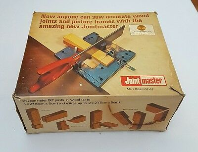 Vintage 60s Retro Copydex Jointmaster Mark II Sawing Jig Carpenter Woodworking