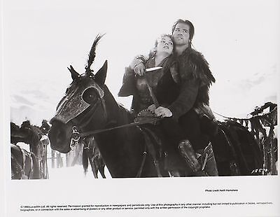 Ron HOWARD - Georges LUCAS  Photo Presse Originale USA WILLOW