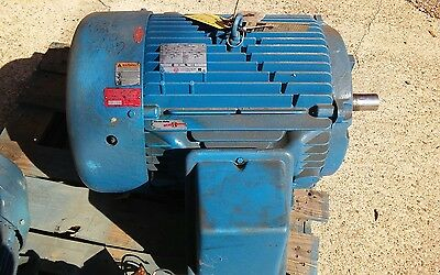 60 HP 1800 rpm 364TS 460volt Electric Motor USEM C60E2F8-P
