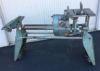 Nice!! Shopsmith Mark V Tool w/Headstock, Table Saw, Joiner Attachment & Casters