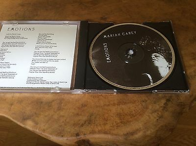 MARIAH CAREY - Emotions - USA  Promo Only Cd - Pic Disc,Extremely rare