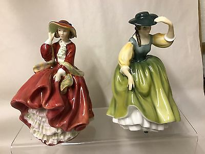 Royal doulton Figurines X 2 Top I The Hill And Buttercup