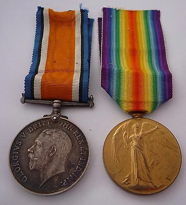 Ww1 British War & Victory Medal Pair- Staff Sergeant Army Ordnance Corps