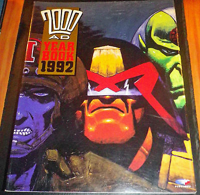 2000 AD Yearbook 1992 Comic Graphic Novel (2000AD)