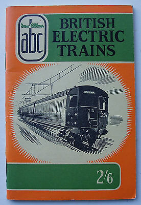 Ian Allan ABC of British Electric Trains 1957