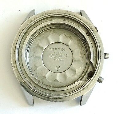 Vintage Certina DS Stainless Steel CASE ONLY for Diver Watch Parts Ref 346.825