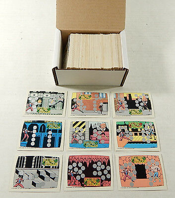 Over (225) 1989 Topps Nintendo Double Dragon Scratch-Off Cards ^ Avg Nm/Mt