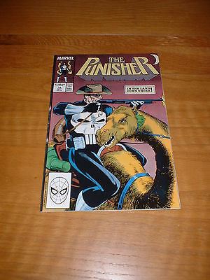 PUNISHER (vol1 ; 1987 SERIES) 19. NM COND. MAY 1989