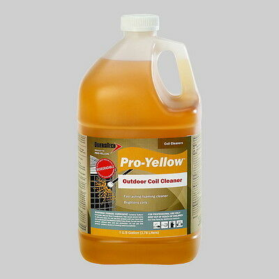 Diversitech Pro Yellow Non Acid Outdoor Condenser Coil Cleaner 1 Gal
