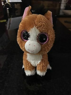 "Beanie boo pony - Dakota Size 6"" by TY in used by good condition"