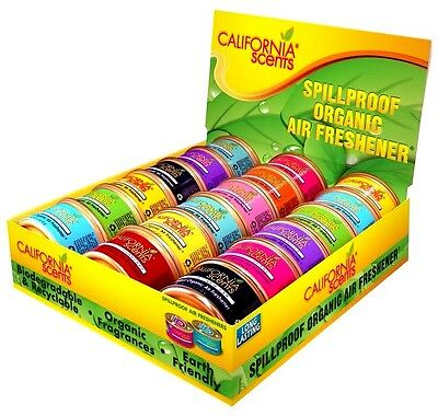 California Scents Spillproof Organic Air Freshener 72 Pcs FOR Car/office/Home