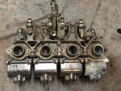 1972-73 Honda CB350 Four Carburetors Carb Set 72 1973 CB350F CB 350F 350