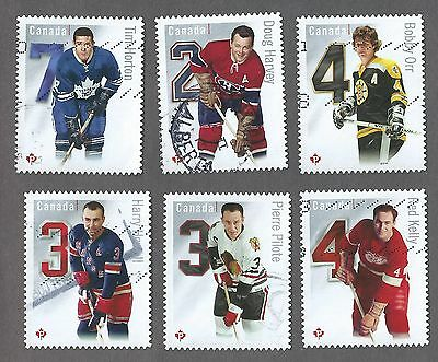 Canada SC 2787a to 2787f ;complet set of 6 from Booklet ; U VF