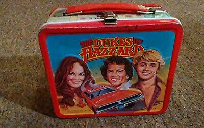 1980 dukes of hazzard lunch box with thermose